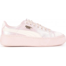 Puma Junior Basket Platform Tween Gs Rosa