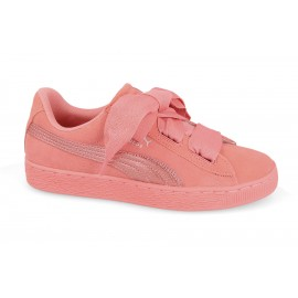 Puma Junior Suede Heart Snk Gs Rosa