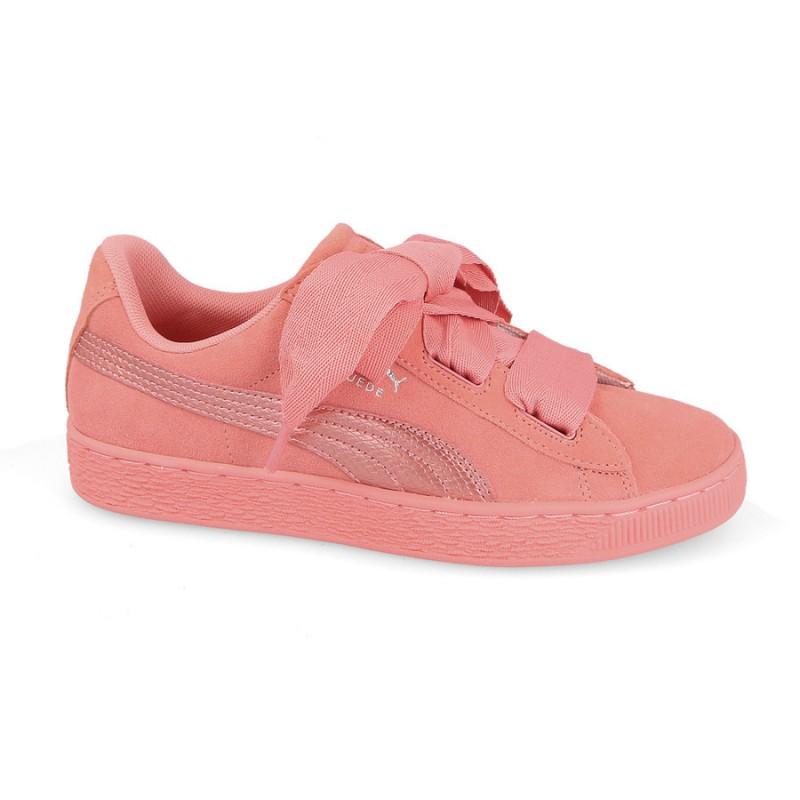 puma rosa fiocco
