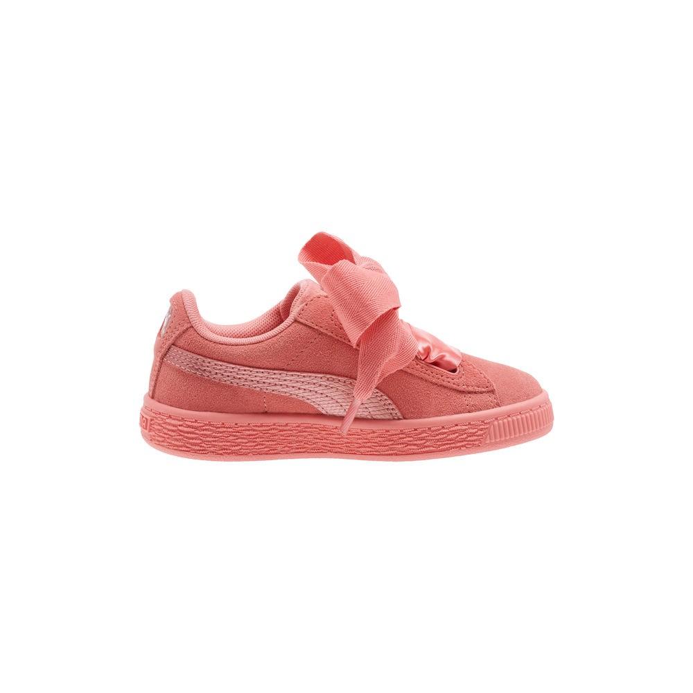 PUMA Sneaker stringata rosa arancione stile atletico Donna Taglia IT 36