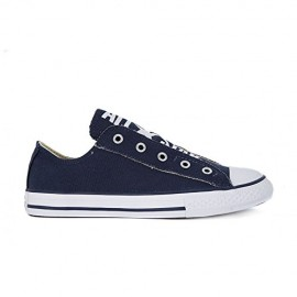 Converse Bambino Canvas Slip On Blu