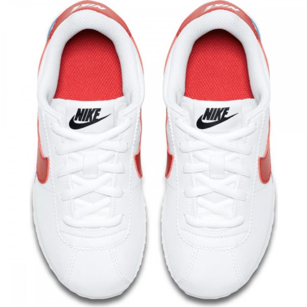 Nike Bambino Cortez Basic Ps Bianco/Rosso Comprar Barato Nicekicks Baja Tarifa De Envío En Línea Comprar Barato Original Envío Bajo Precio Barato Tienda Para La Venta ytesWF