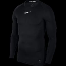 Nike T-Shirt Comp M/L Train Black/White