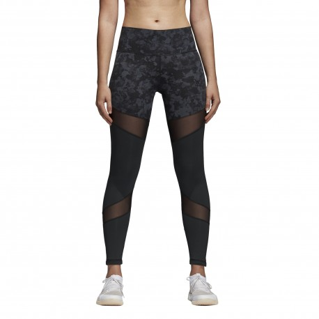 Adidas Tight Donna Fantasia Train Nero
