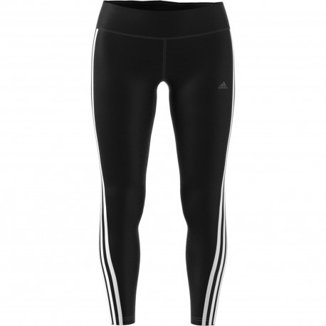 Adidas Leggings Donna 3 Stripe Nero