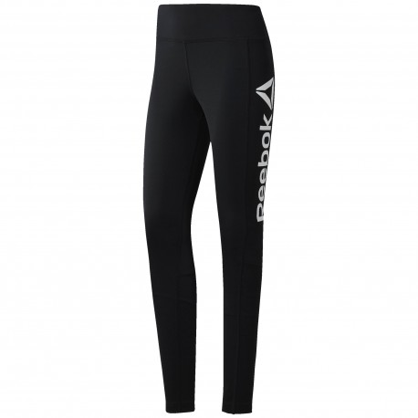 Reebok Tight Donna Train Nero