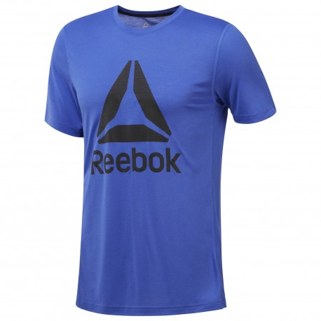 Reebok T-Shirt Wor Train Blu