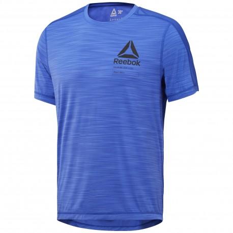 Reebok T-Shirt Graphic Train Blu