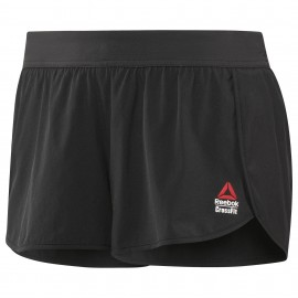 Reebok Short Donna Cross Nero