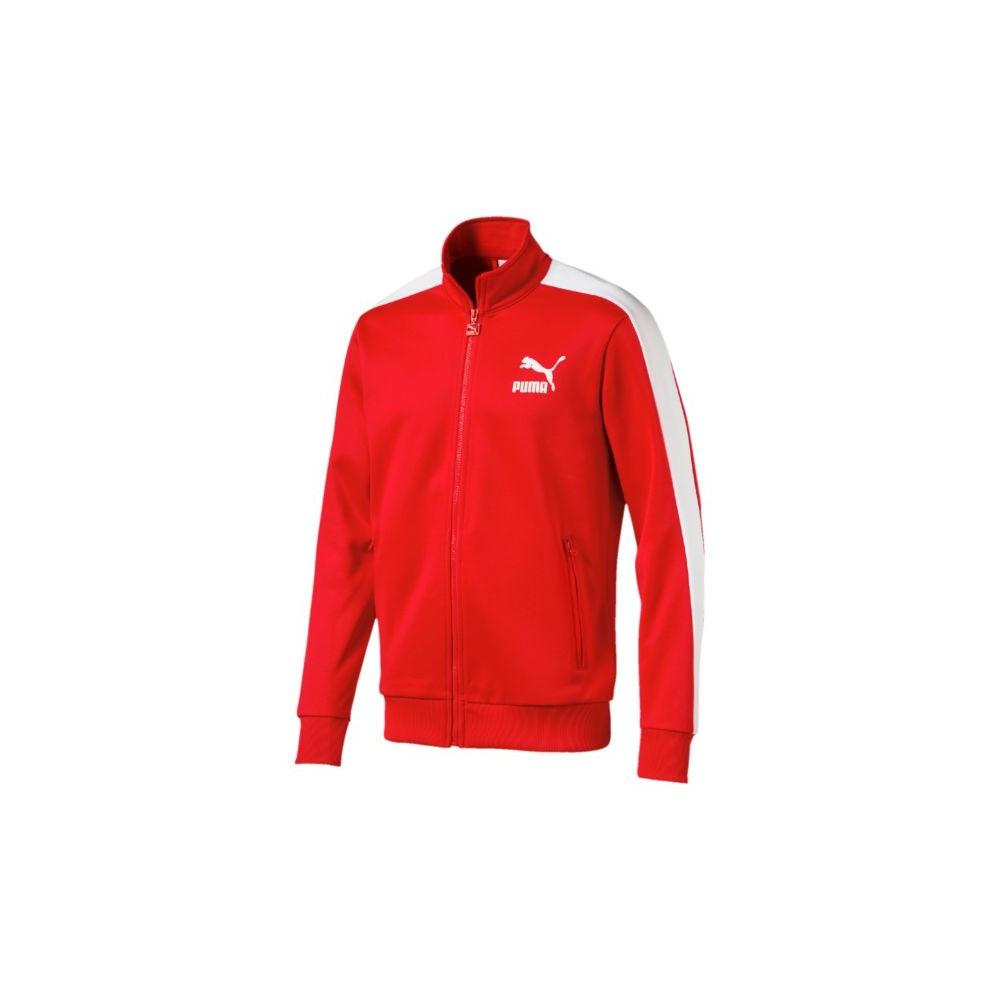 Puma Felpa Full Zip Rosso 572658 82 Acquista online su