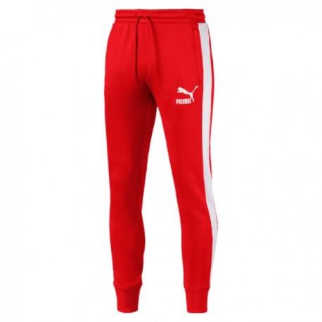 Puma Pantalone Poly Logo Rosso
