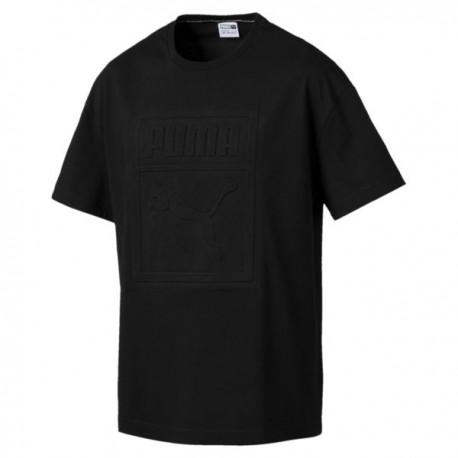 Puma T-Shirt Big Logo Nero