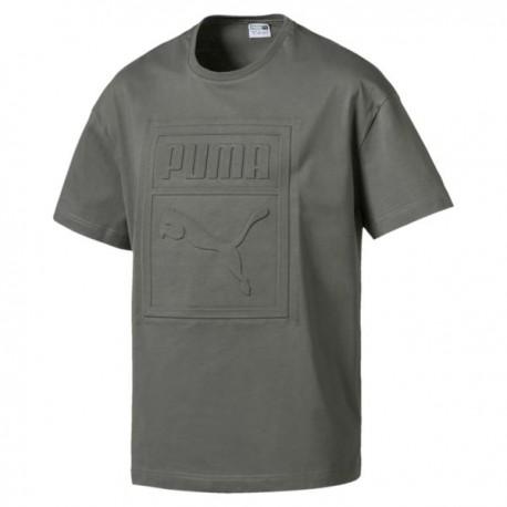Puma T-Shirt Big Logo Verde