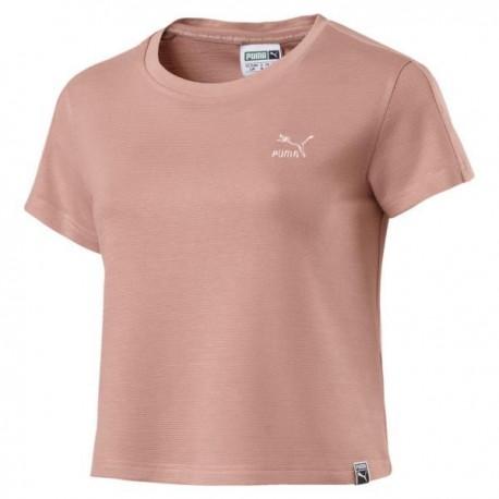 Puma T-Shirt Donna Structured Rosa