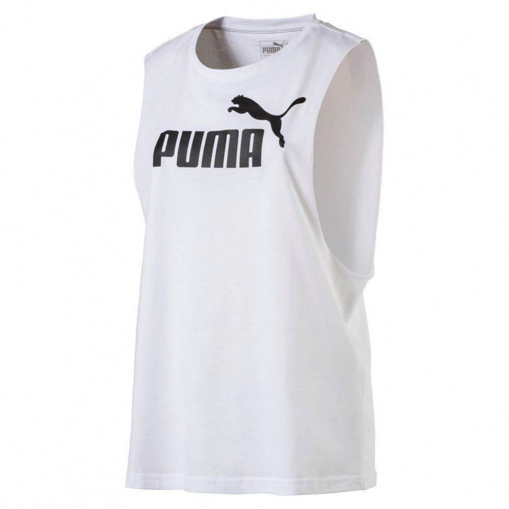 Puma T Shirt Donna Sman Bianco