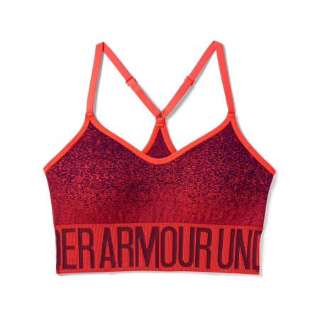 Under Armour Bra Donna Seamless Corallo