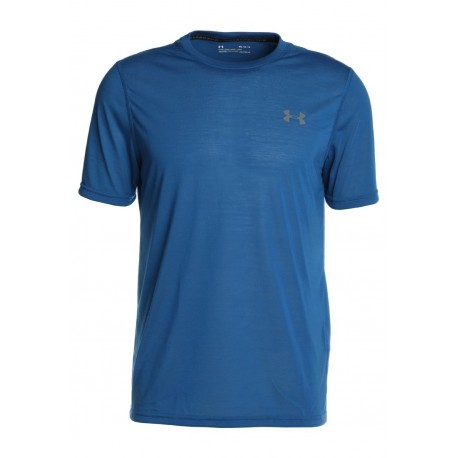 Under Armour T-Shirt Fitted Blu