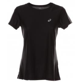 Asics T-Shirt Donna Mm Run Balance Black