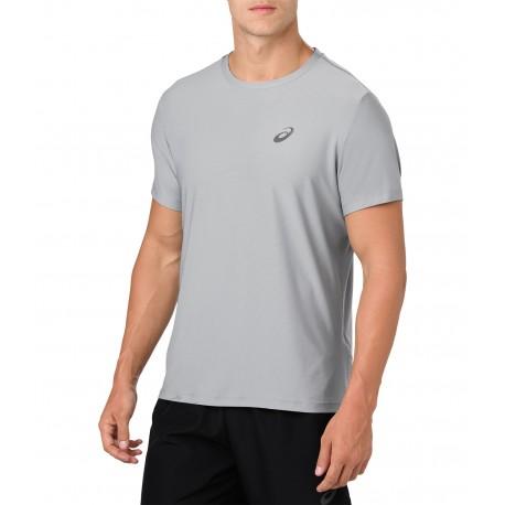 Asics T-Shirt Mm Rn Stone Gray