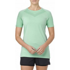 Asics T-Shirt Donna Mm Rn Cool Opal Green