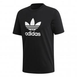 ADIDAS maglietta palestra logo nero uomo