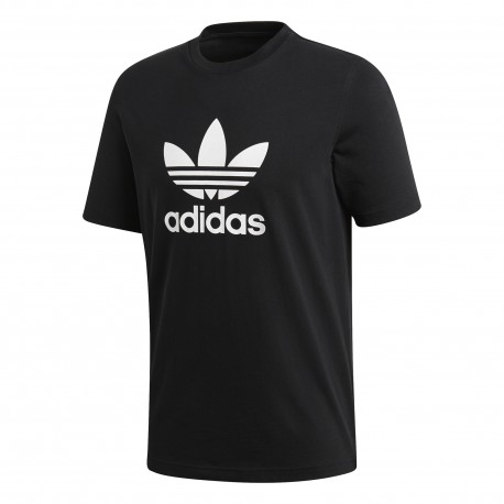Adidas Originals T-Shirt Slim Logo Nero