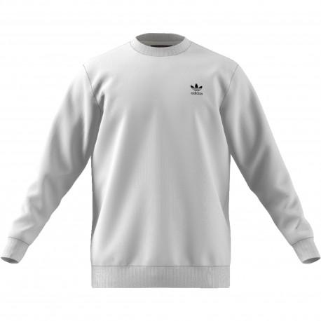 Adidas Originals Felpa Logo Piccolo Or  Bianco