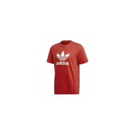 Adidas Originals T-Shirt Logo Mm Or  Rosso