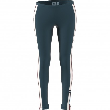 Adidas Originals Leggings Donna Adibreak Or Verde