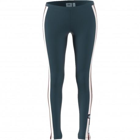 Adidas Originals Leggings Donna Adibreak Or Verde