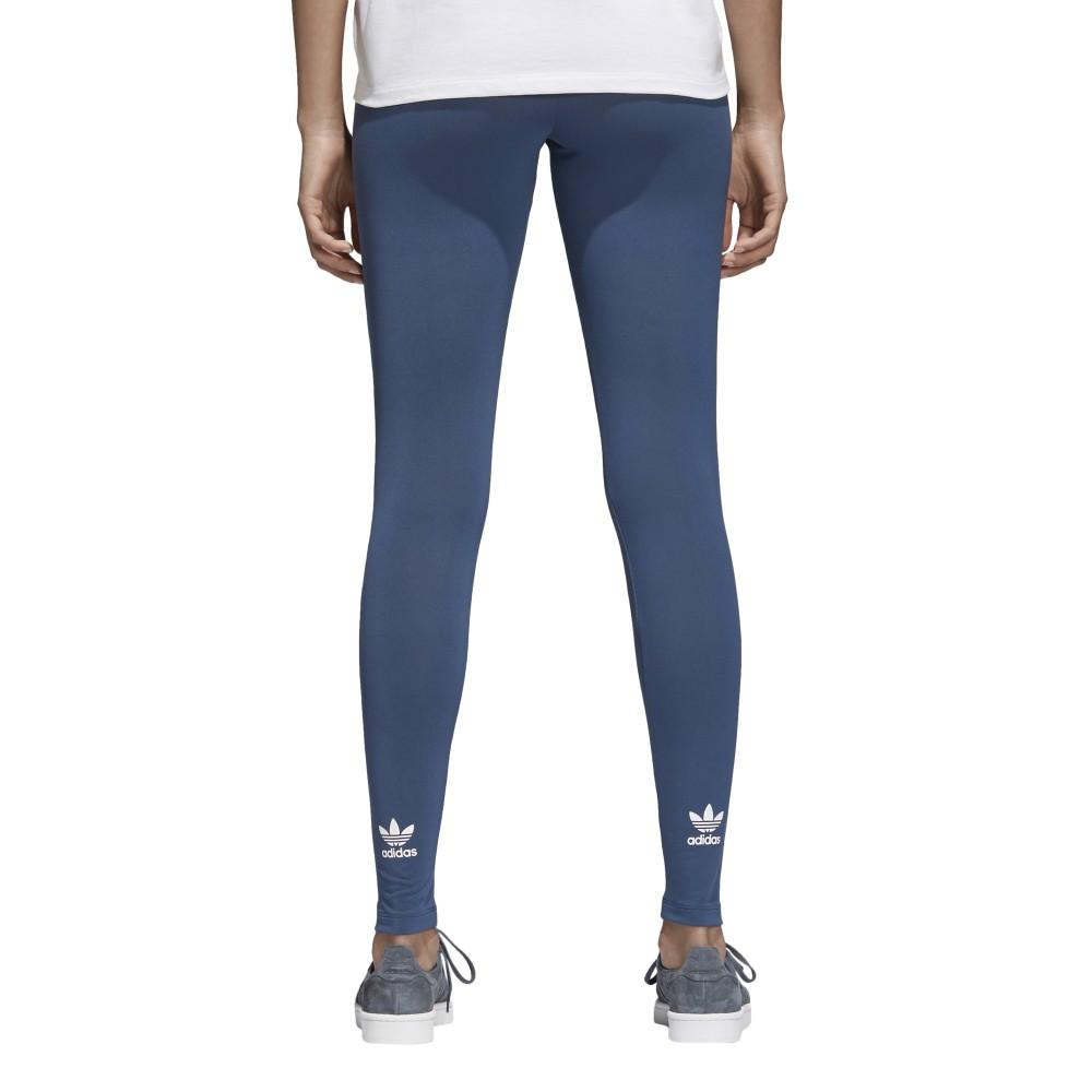 misurazione Contare gli insetti tenace  ADIDAS originals leggings donna trefoil or mineral blue cw5078 - Acquista  online su Sportland