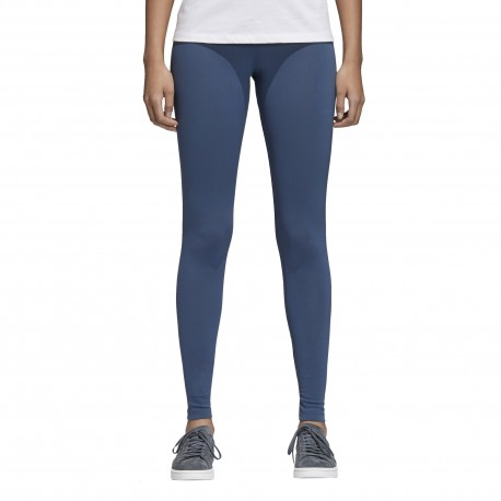 Adidas Originals Leggings Donna Trefoil Or Verde