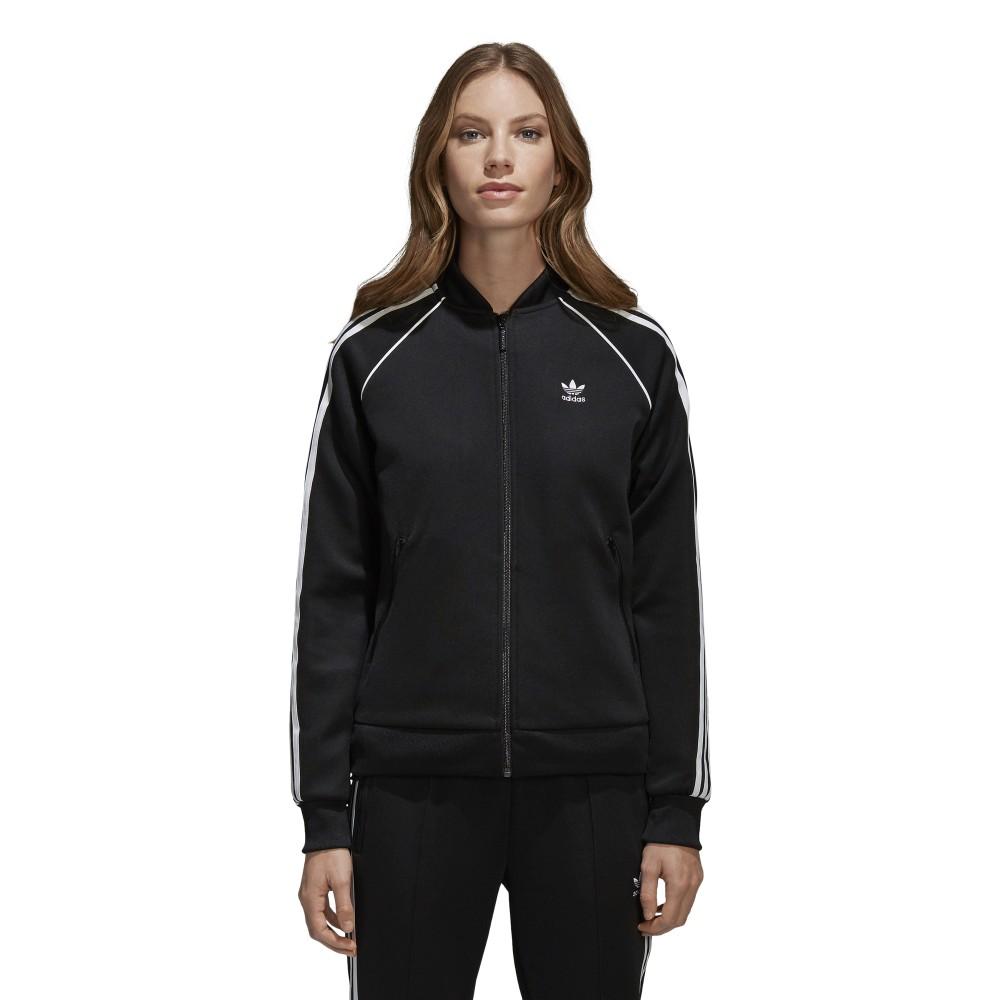9b8798315adae Track su Acquista online Donna Adidas Nero Giacca Sportland 1xHT55
