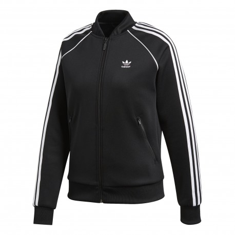 Adidas Originals Felpa Zip 3 Str Or Nero