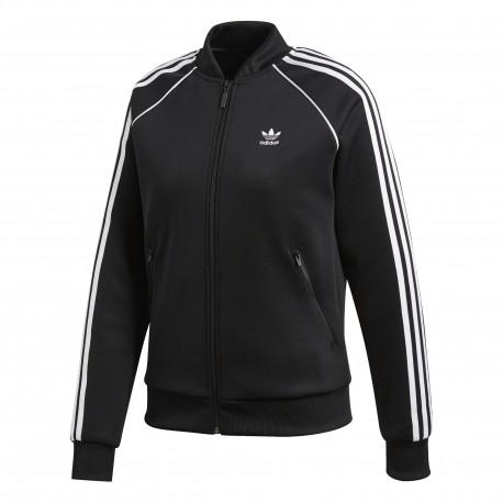 Adidas Originals Felpa Zip 3 Str Or Nero