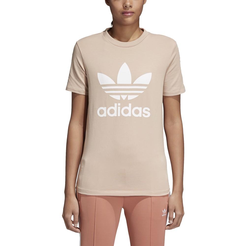 adidas donna t shirt rosa