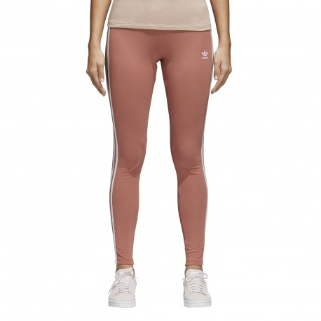 Adidas Originals Legging Donna 3 Str Or Rosa