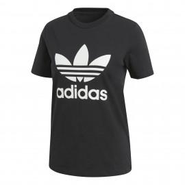 ADIDAS originals maglietta palestra trefoil nero donna