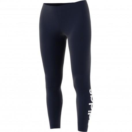 Adidas Originals Leggings Donna Scritta In Basso Blu