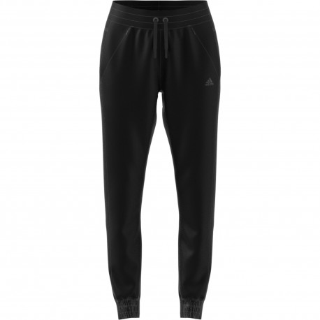 Adidas Originals Pantalone Donna New Poly Ess Nero