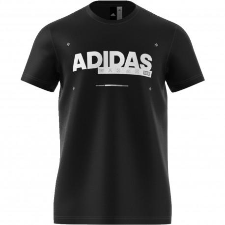 Adidas Originals T-Shirt U Sleeve Rsm  Nero