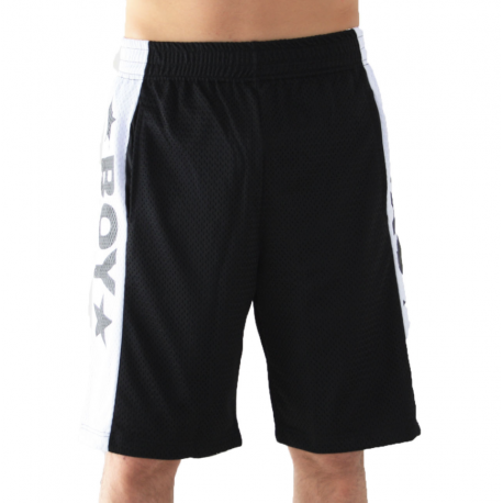 Boy London Short Mesh Nero