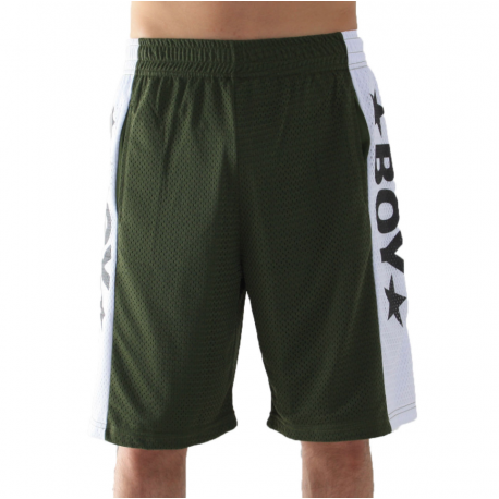 Boy London Short Mesh Verde