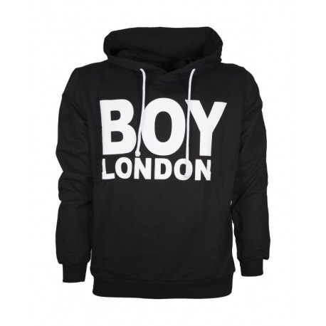Boy London Felpa C/Capp Unisex Nero
