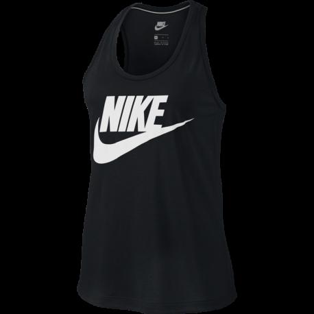 Nike  Tank Donna Essential Hbr Black