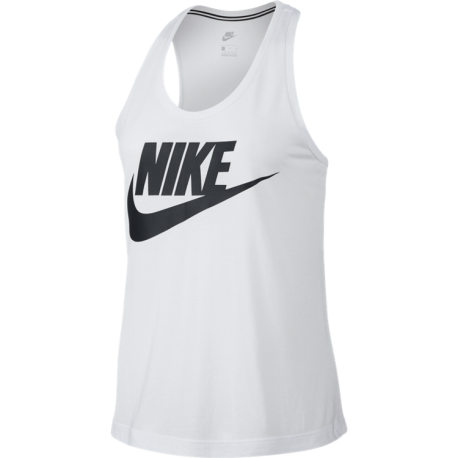 Nike  Tank W Essential Hbr  White