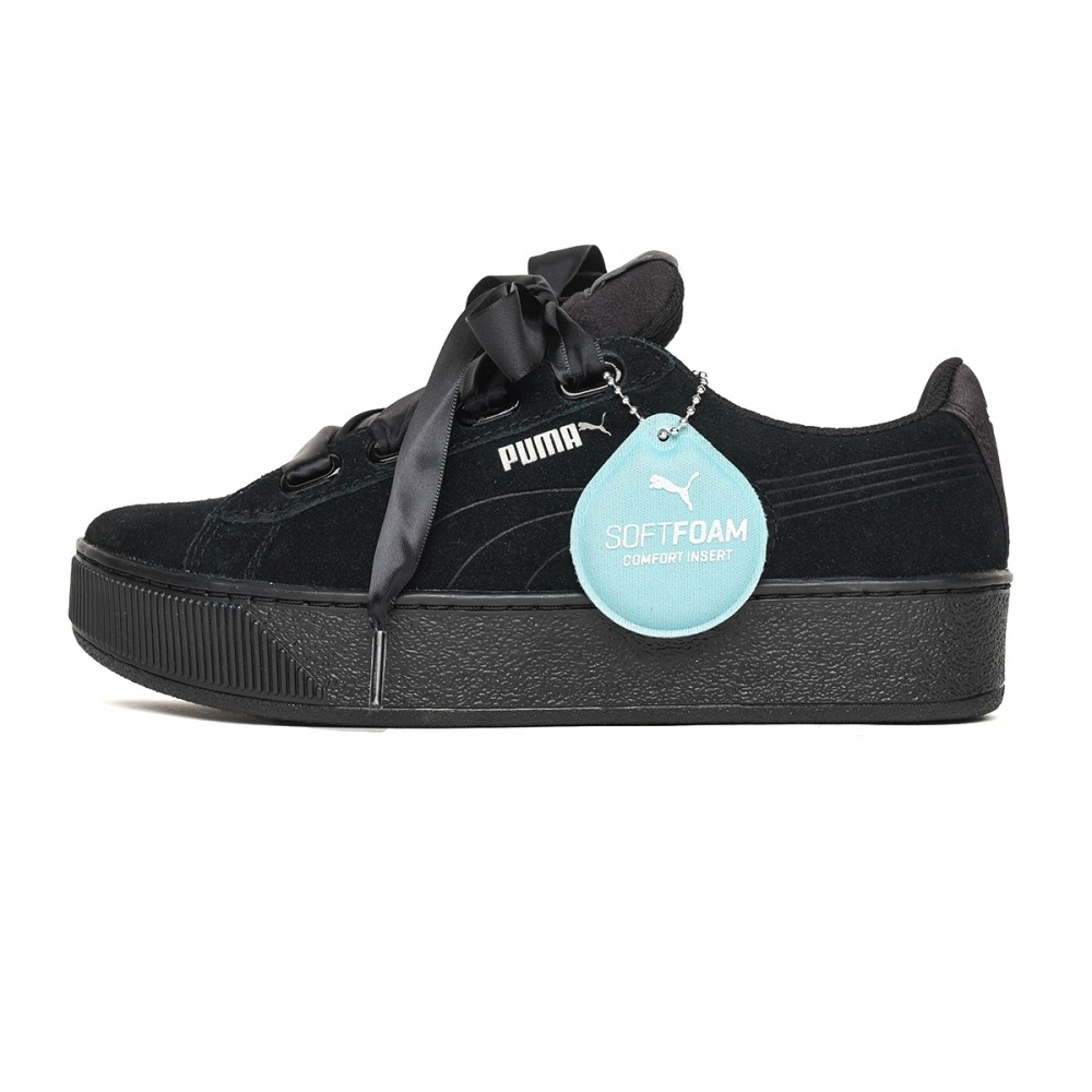 Puma Vikky Platform Ribbon Donna Nero 366418 01 Acquista