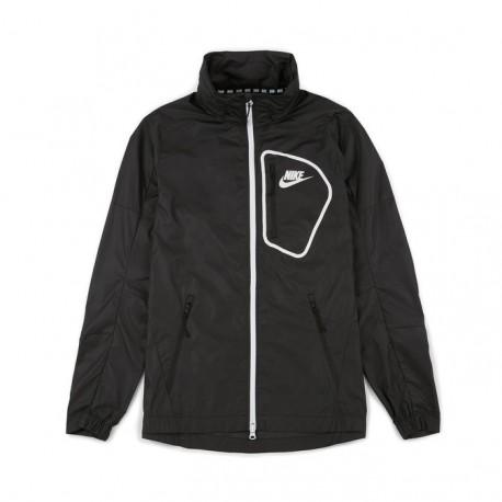 Nike Giacca Zip Cap Black