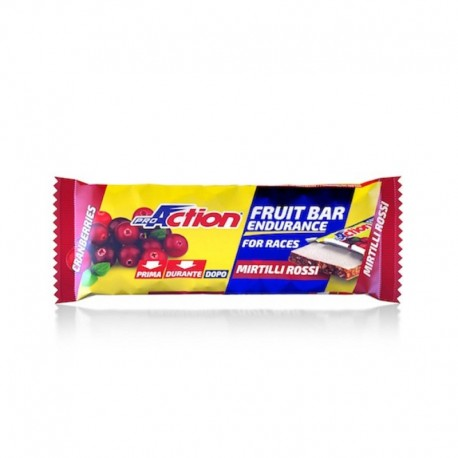 Proaction Barretta Fruit Bar Mirtillo 40g