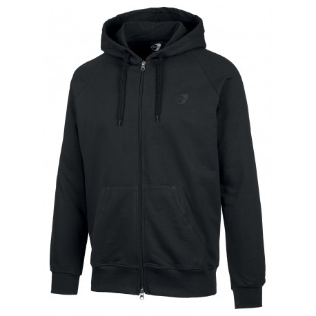 Get Fit Felpa Full Zip C/Capp Nero